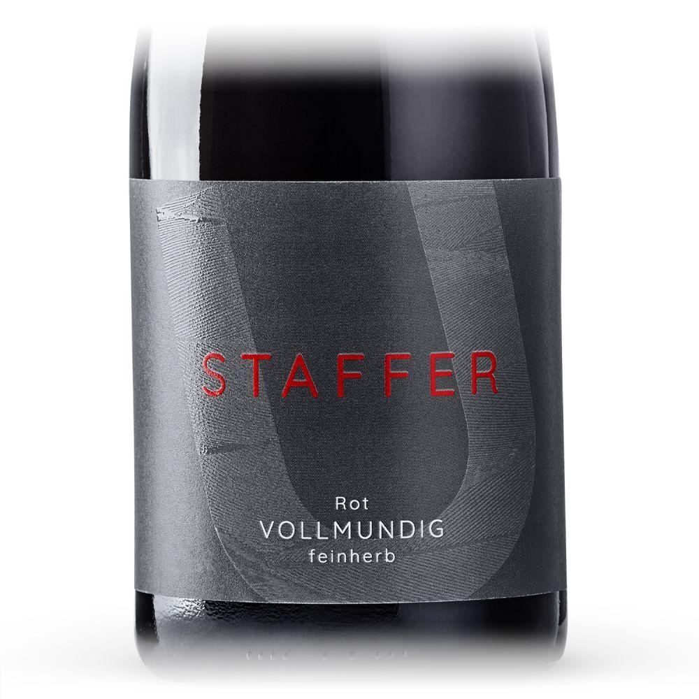 STAFFER Rot vollmundig feinherb 2018 0,75l