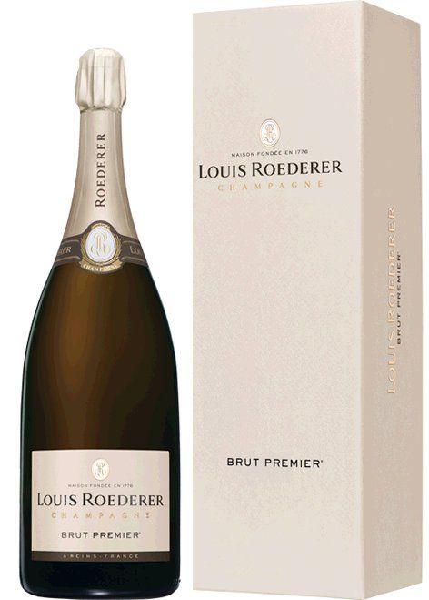 """Roederer Brut Premier 1,5l in Geschenkkarton """"Deluxe"""""""