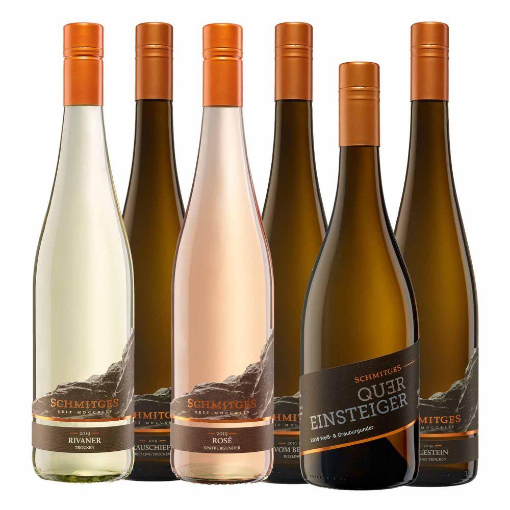 Weinprobe für Zuhause Schmitges