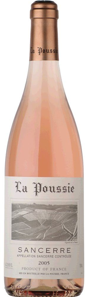 Sancerre Rosé La Poussie 2017