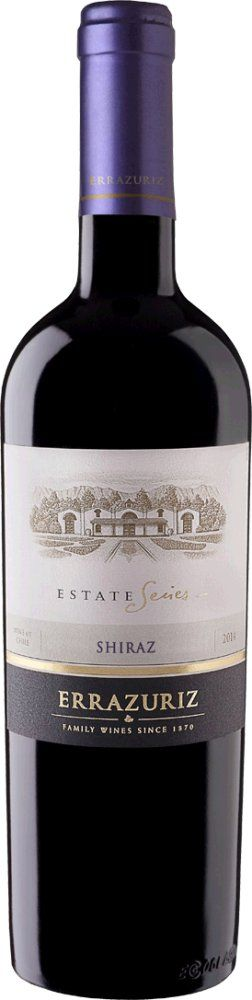Errazuriz Estate Syrah 2015