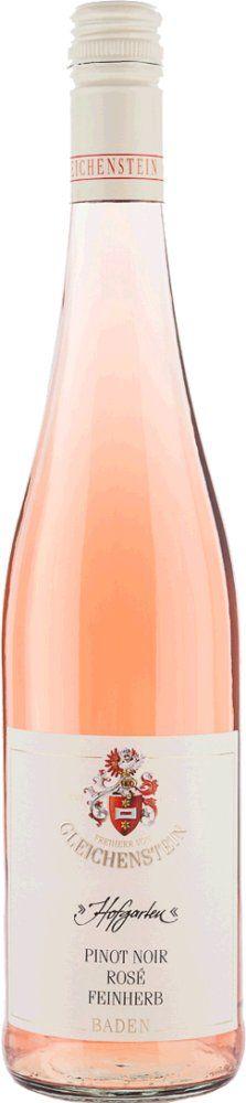Freiherr von Gleichenstein Hofgarten Pinot Noir Rosé trocken 2018