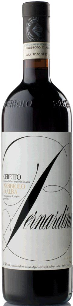 Ceretto Nebbiolo d'Alba Bernardina 2017