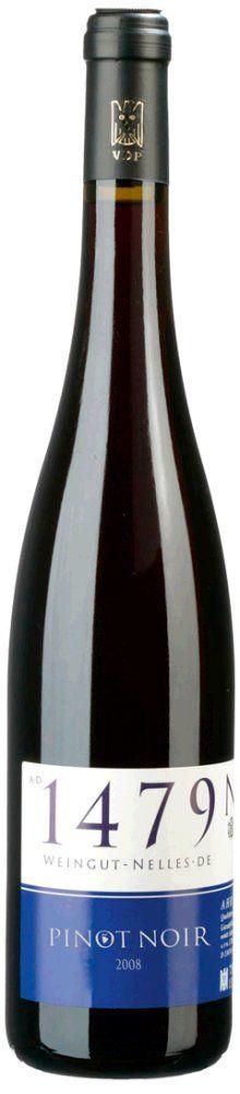 Nelles Pinot Noir Spätburgunder trocken 2015 1,5l