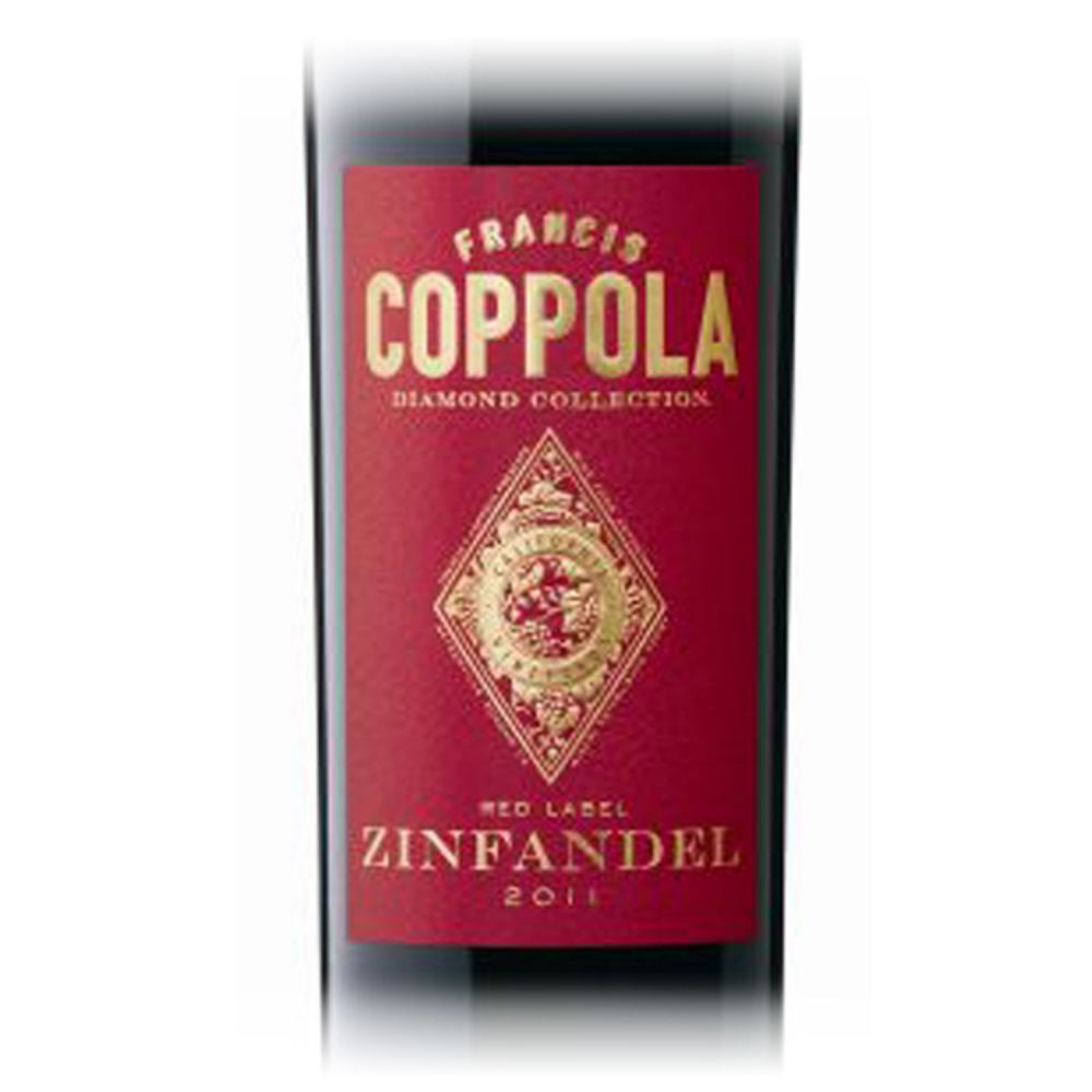 Coppola Zinfandel Diamond Collection Red Label 2015