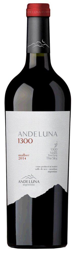 Andeluna Malbec 1300 2017 1,5l