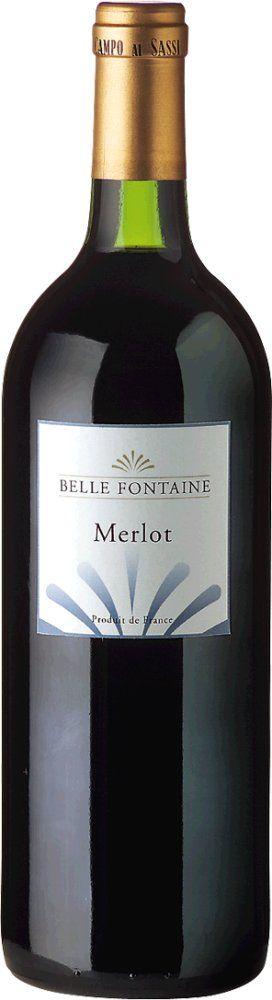 Belle Fontaine Merlot 2017 1l