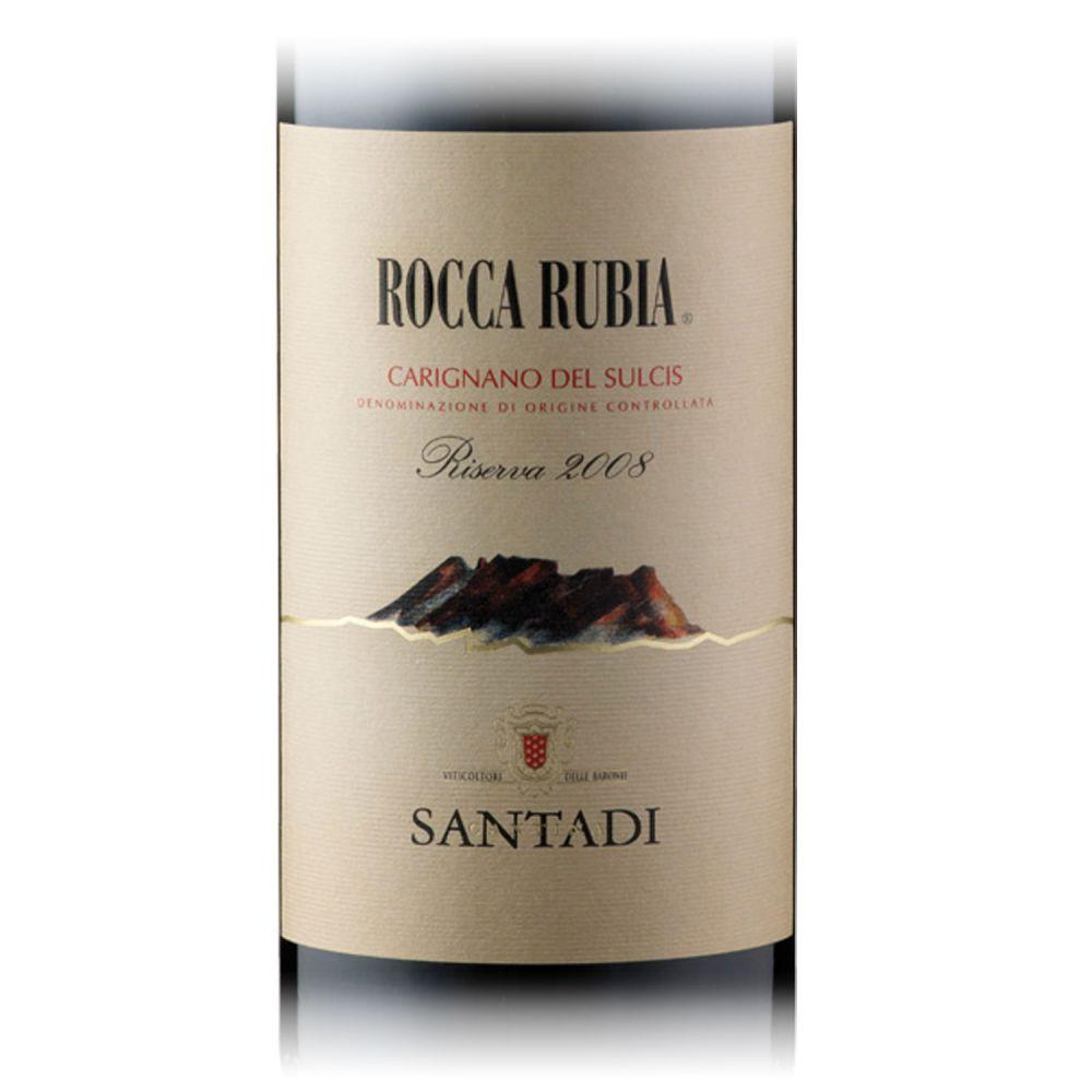 Santadi Rocca Rubia Riserva 2017 18 Fl.