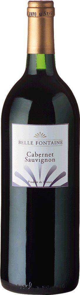 Belle Fontaine Cabernet Sauvignon 2017 1l