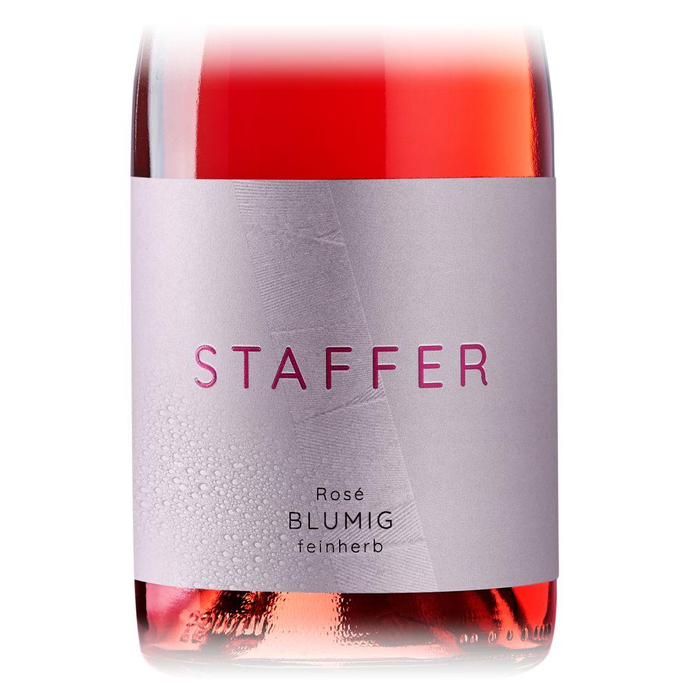 STAFFER Rosé blumig feinherb 2020 0,75l