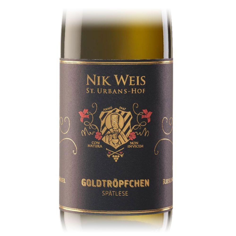 Nik Weis Riesling Spätlese Goldtröpfchen 2017