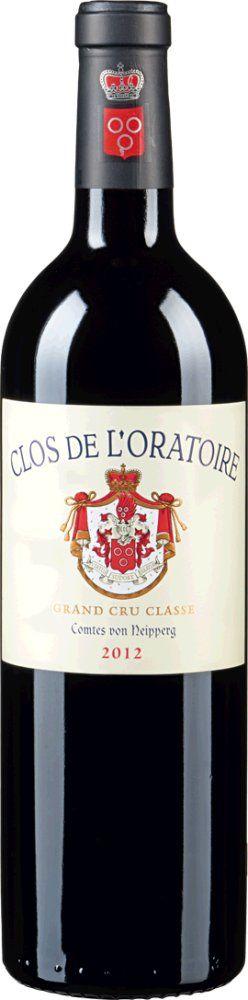 Château Clos de l'Oratoire Grand Cru Classé 2015 1,5l