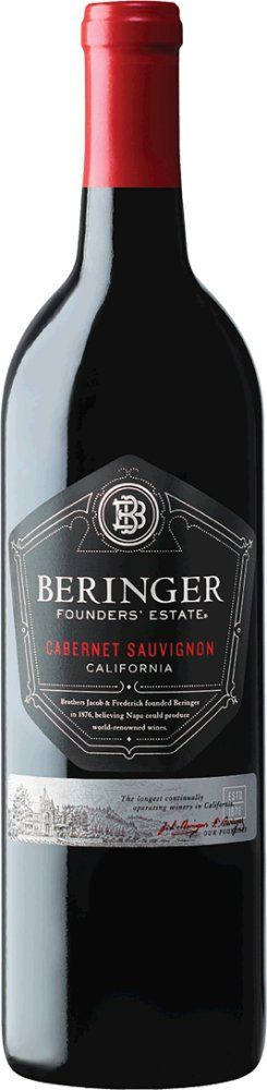 Beringer Cabernet Sauvignon Founders' Estate 2017