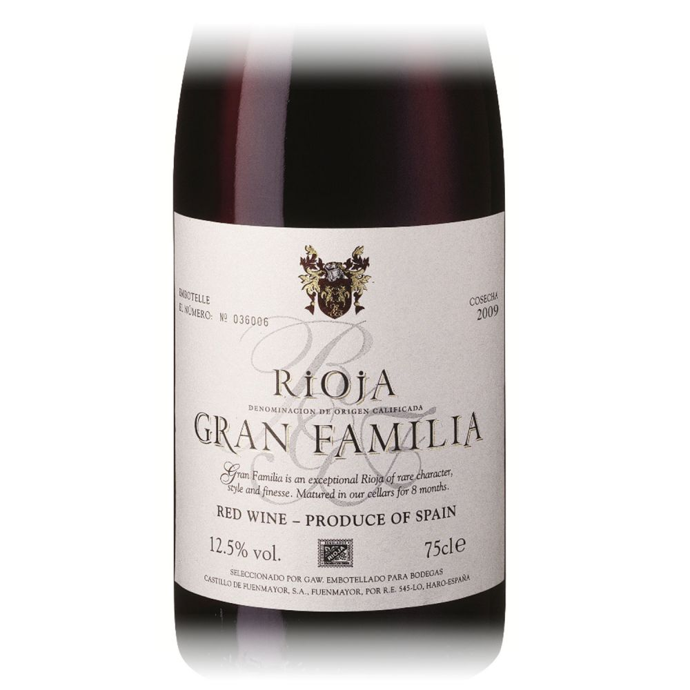Bodegas Castillo de Fuenmayor Gran Familia Rioja 2016