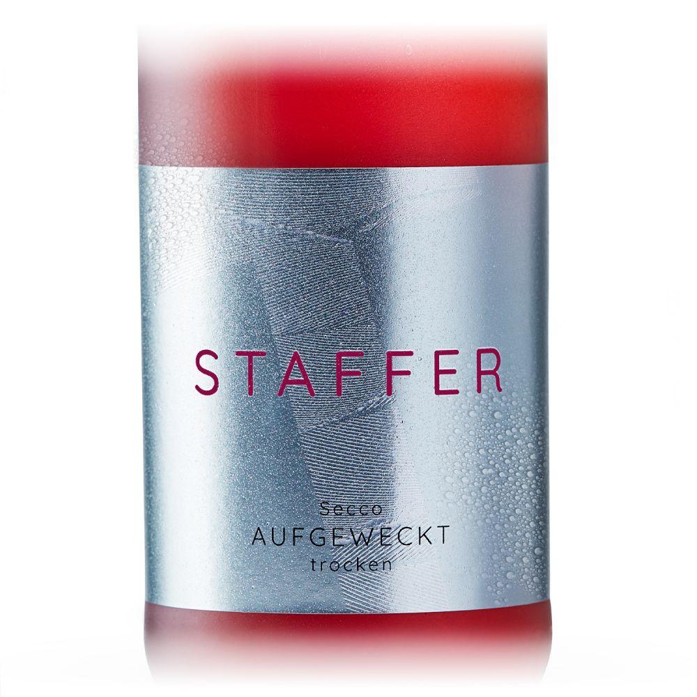 STAFFER Rosé Secco aufgeweckt trocken 2020 0,75l