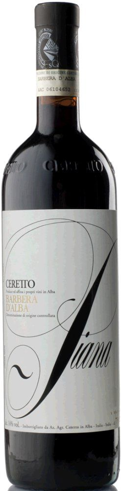Ceretto Barbera d'Alba Piana 2018
