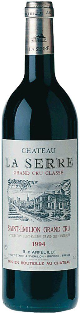 Château la Serre Grand Cru Classé 2016
