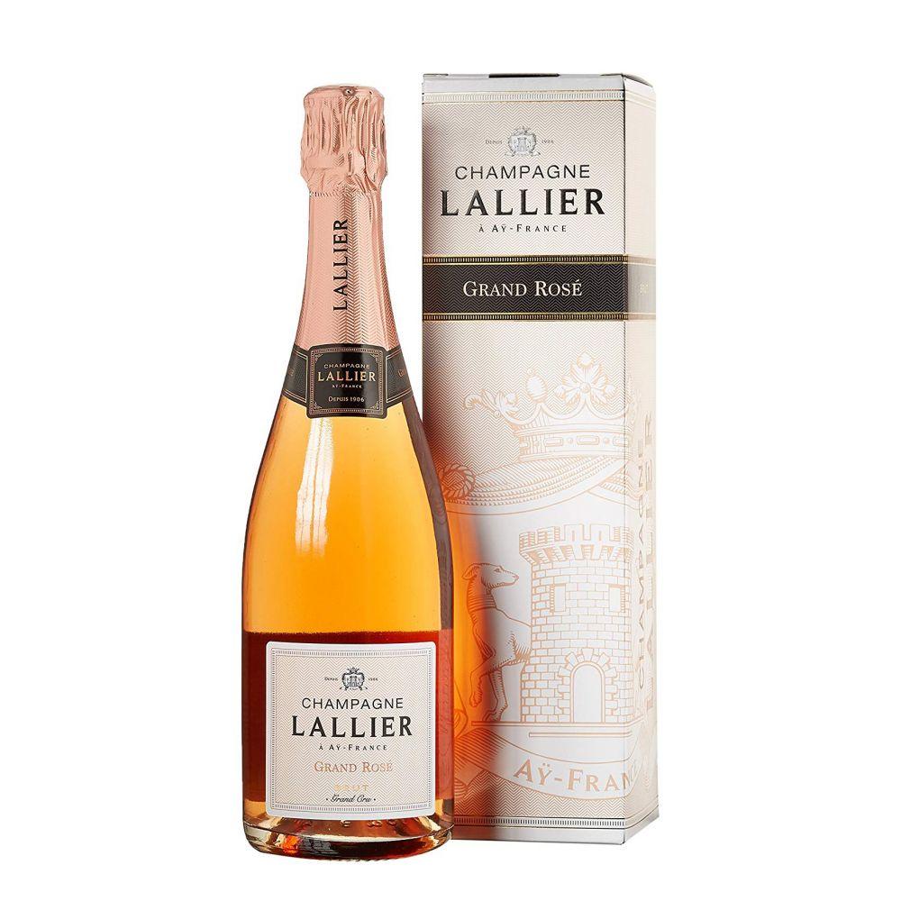 Lallier Grand Rosé Grand Cru in Geschenkverpackung