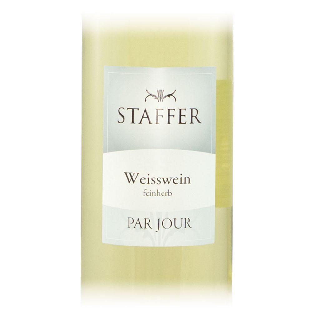 STAFFER Weisswein Feinherb 2018 1l
