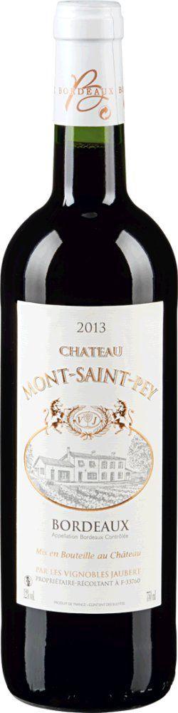 Château Mont Saint Pey Rouge 2017