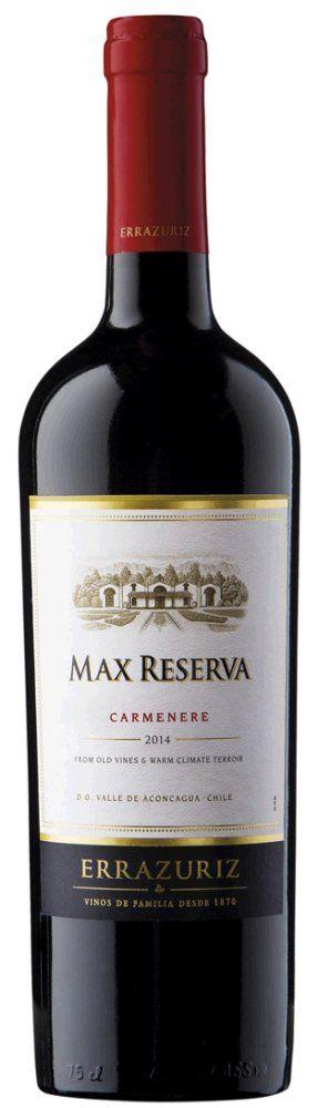 Errazuriz Max Reserva Carmenere 2016