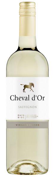 Les Vignobles Foncalieu Cheval d'Or Sauvignon Blanc 2017