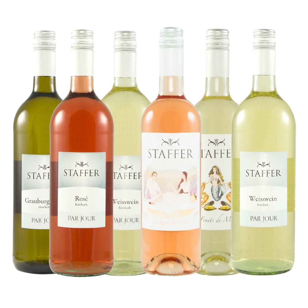 Weinprobe für Zuhause STAFFER