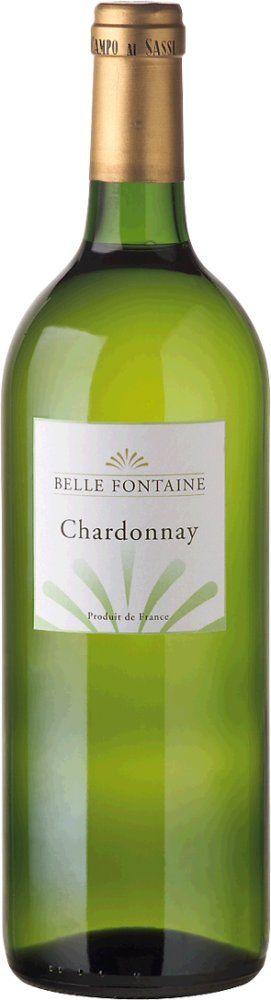 Belle Fontaine Chardonnay 2018 1l
