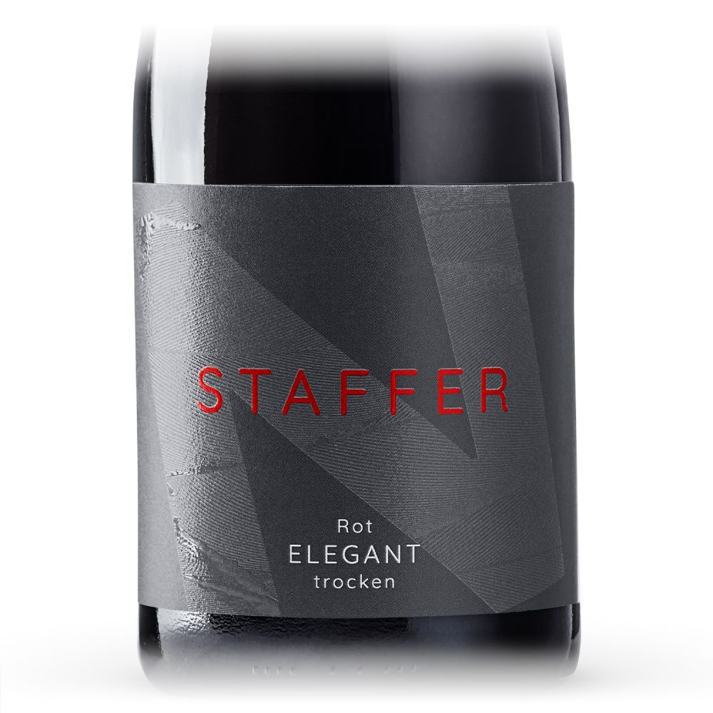 STAFFER Rot elegant trocken 2020 0,75l
