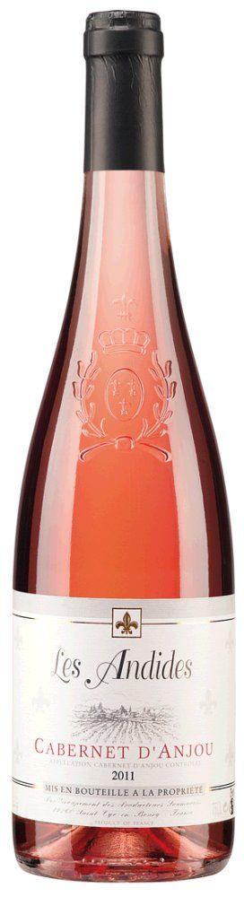 Les Andides Cabernet D'Anjou Rosé 2018