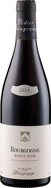 Henri Delagrange et fils Bourgogne Pinot Noir 2015