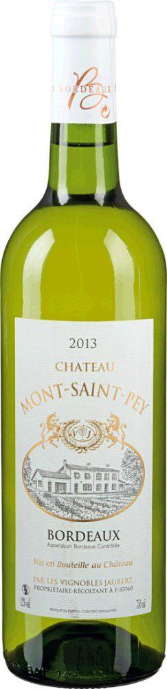Chateau Mont Saint Pey Blanc 2018