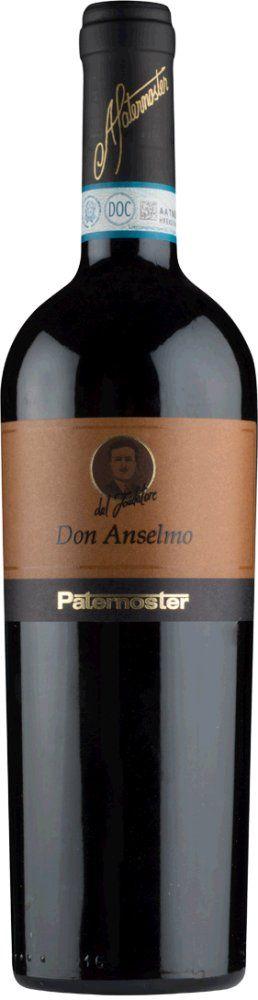 Paternoster Don Anselmo Aglianico del Vulture 2015
