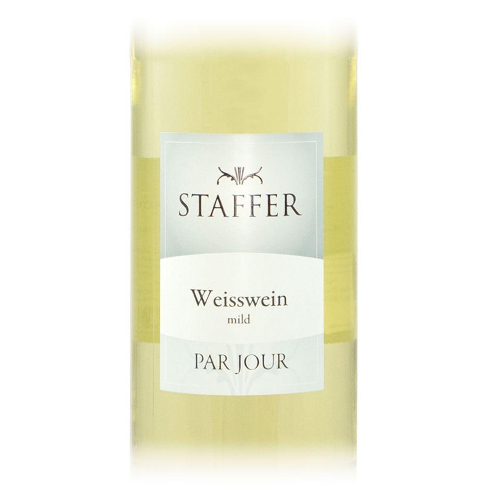 STAFFER Weisswein Mild 2018 1l