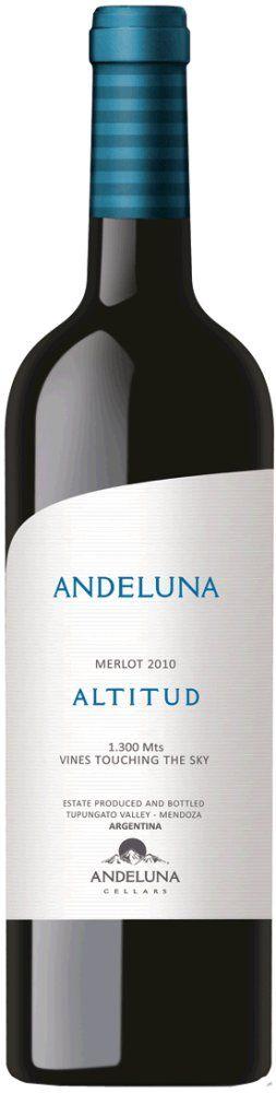 Andeluna Merlot Reserve Altitud 2014