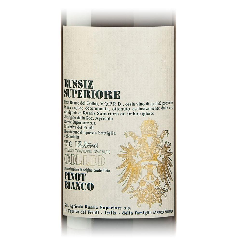Russiz Superiore Pinot Bianco Collio 2018