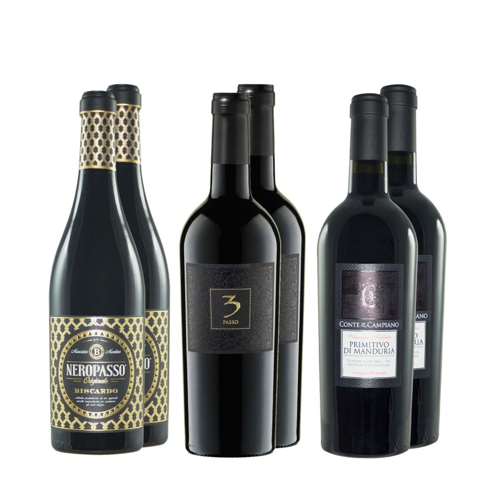 Vollmundige Rotweine - Klassiker 6er Paket