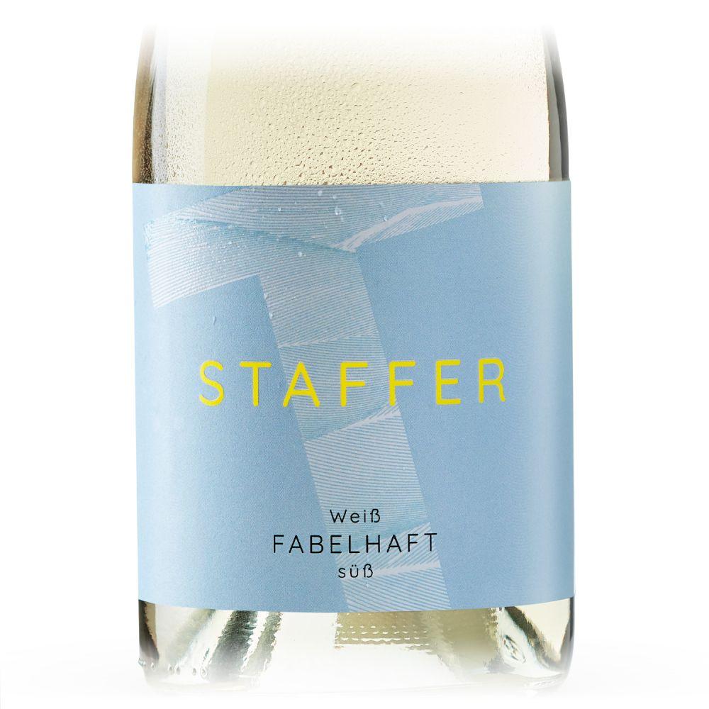 STAFFER Weiß fabelhaft süß 2020 0,75l