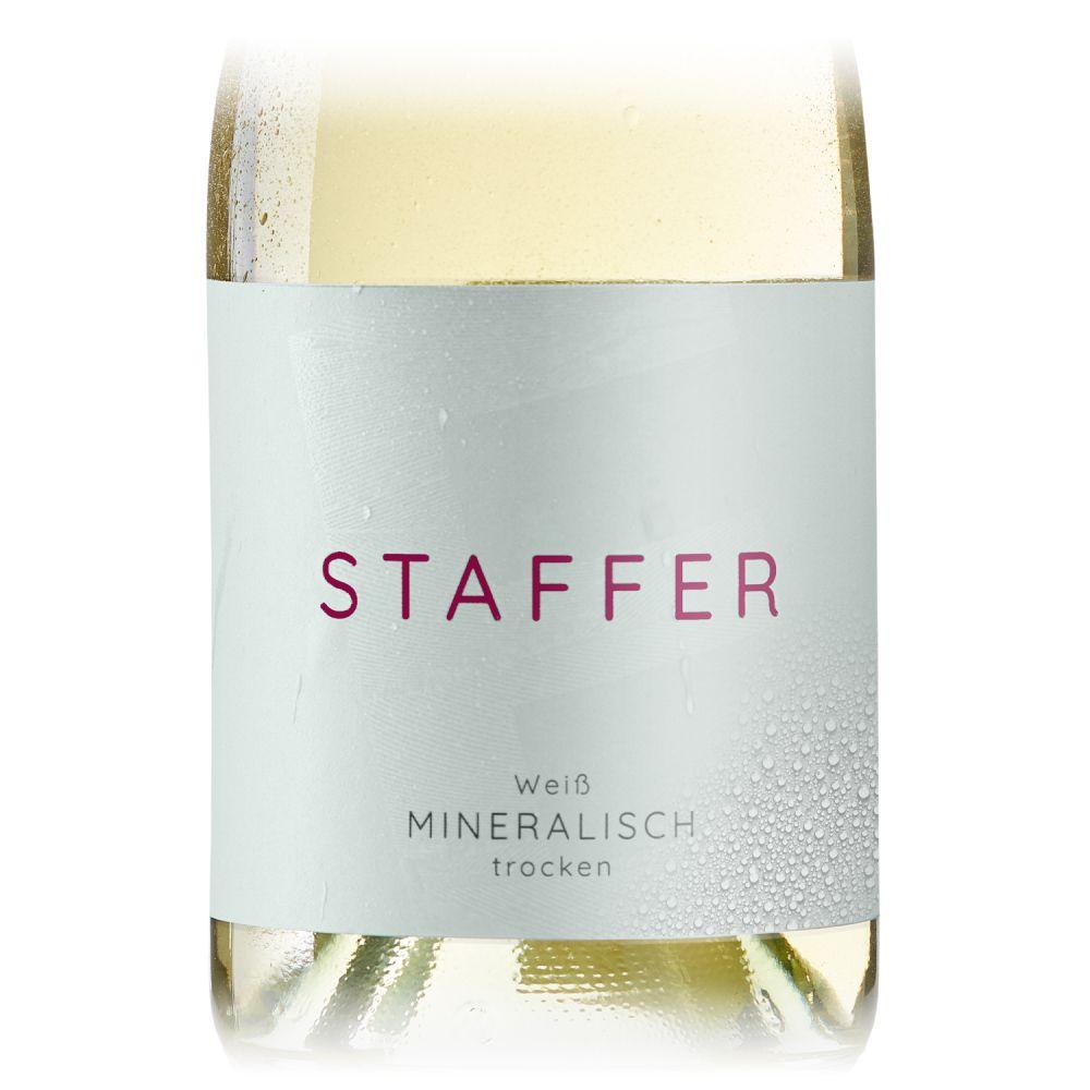 STAFFER Weiß mineralisch trocken 0,75l