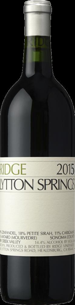Ridge Lytton Springs Zinfandel 2016
