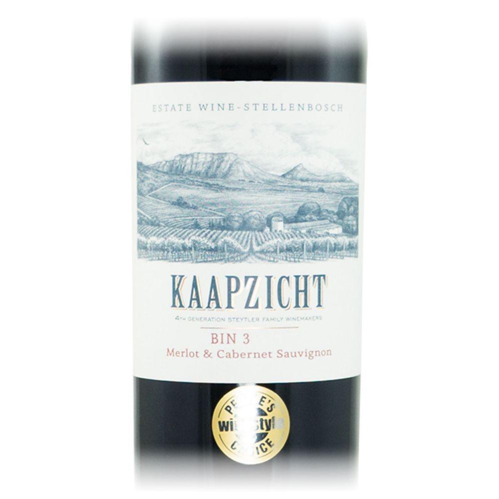 Kaapzicht Bin 3 Merlot & Cabernet Sauvignon 2012