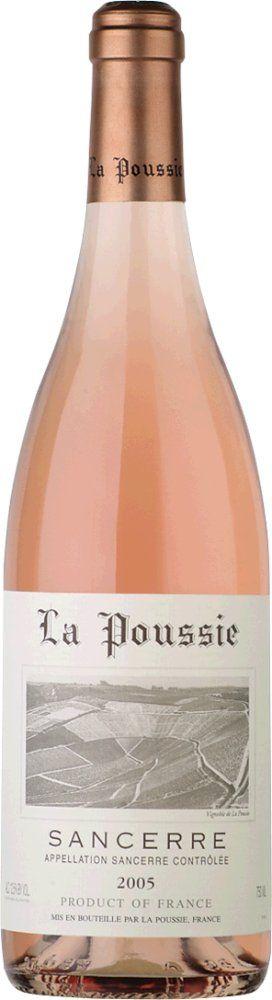 Sancerre Rosé La Poussie 2017 0,375l