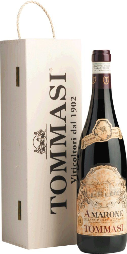 Tommasi Amarone Classico 2015 in Holzkiste