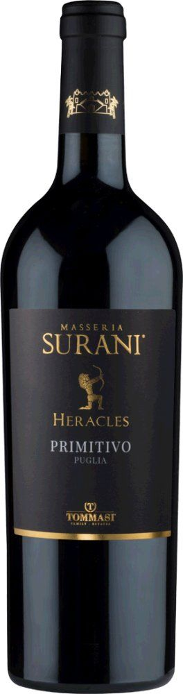 Masseria Surani Heracles Primitivo Puglia 2016