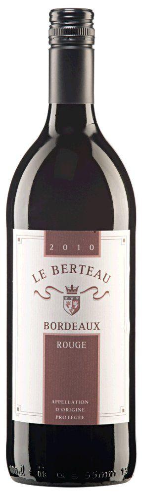Bordeaux Rouge Le Berteau 2015 1l - Restposten
