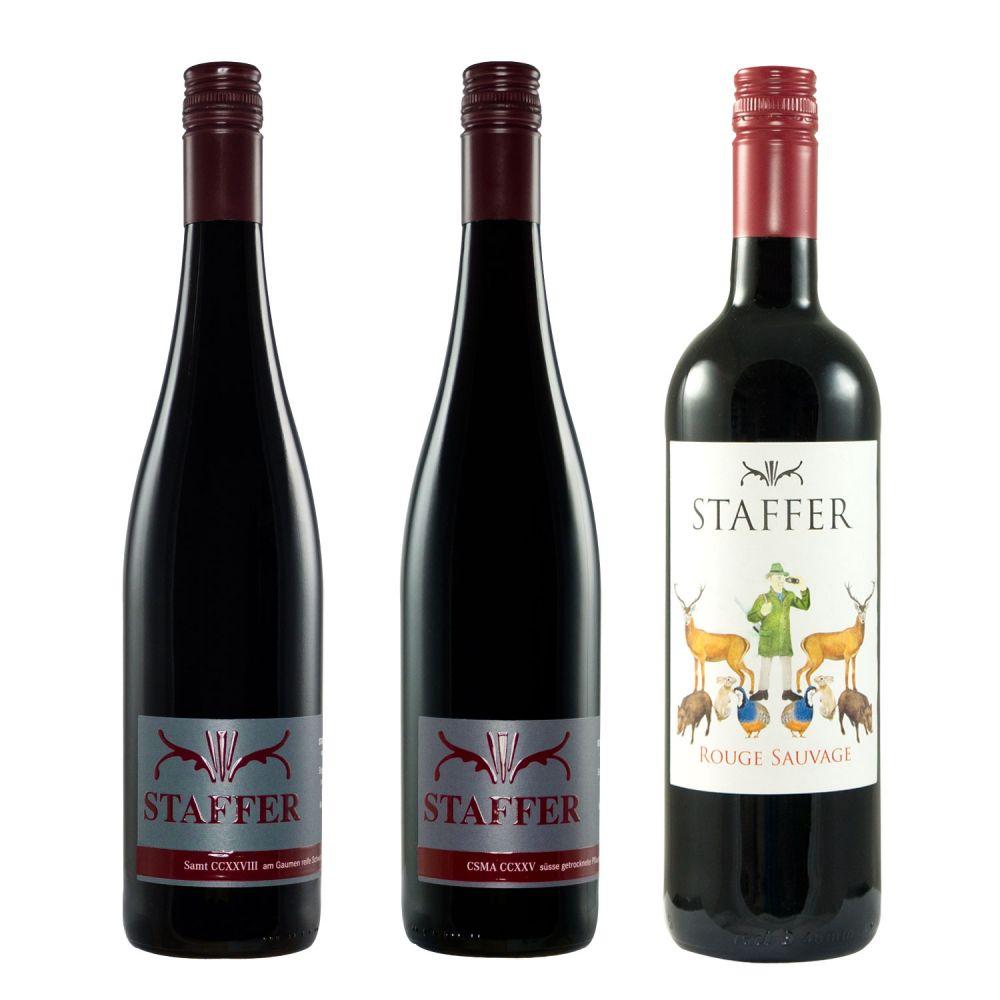 STAFFER Rotwein Paket