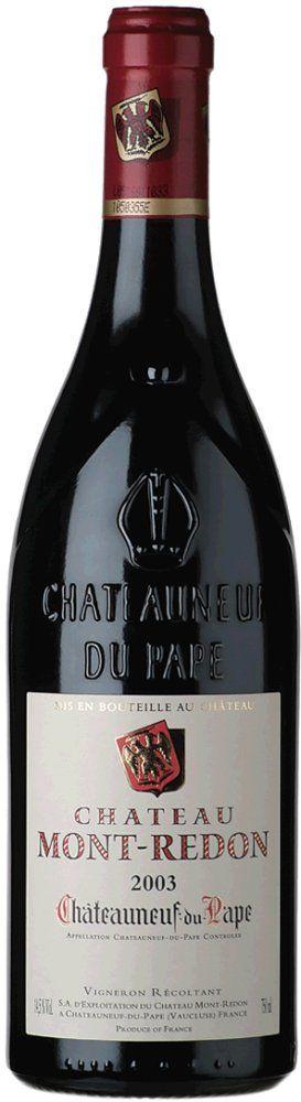 Mont-Redon Châteauneuf du Pape Rouge 2015 0,375l