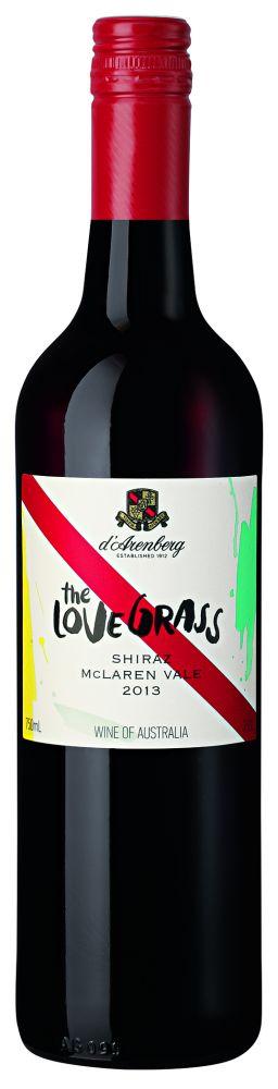 d'Arenberg The Love Grass Shiraz 2014