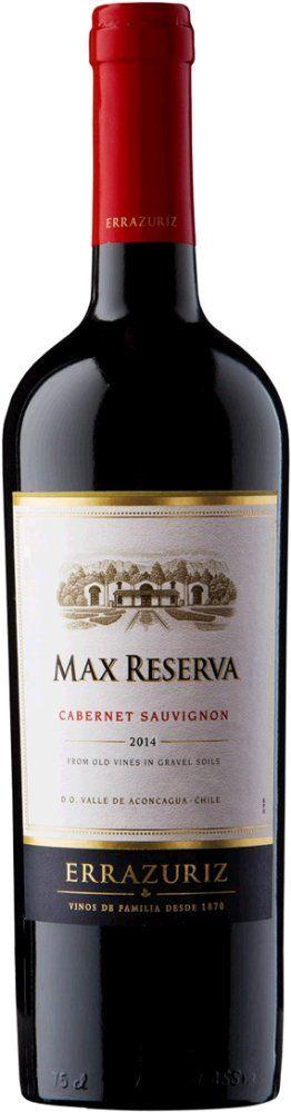 Errazuriz Max Reserva Cabernet Sauvignon 2015